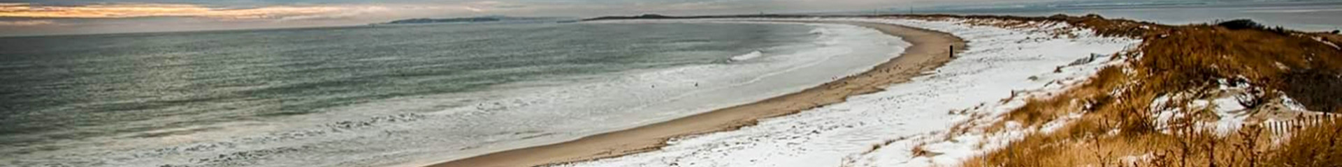 seashore in winter